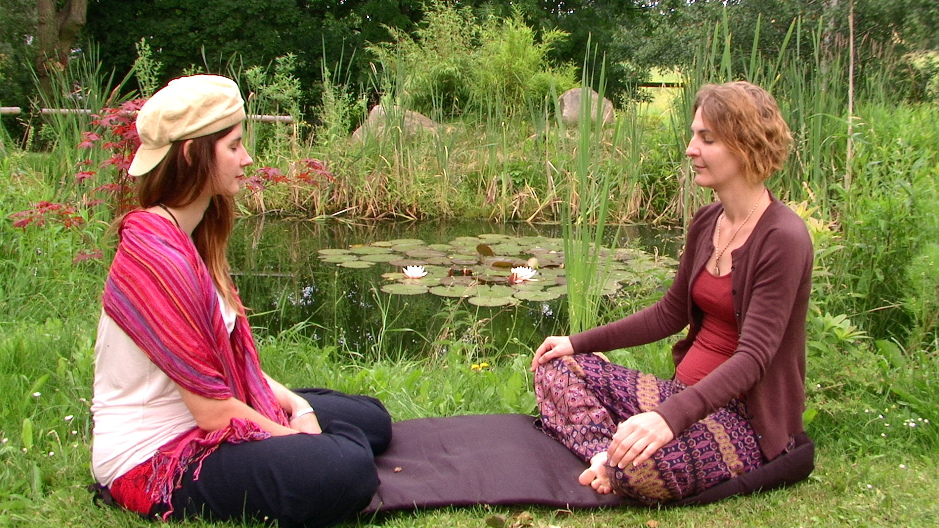 Energy reading v zahradě Osho Shangri La